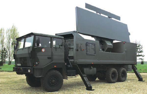 Ground Master 403 radar systems for Morocco/Radars GM403 pour le Maroc RLS_GM400-002-samohyb_bojova_poloha