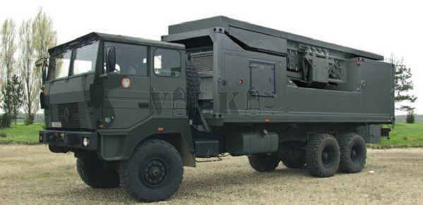 Ground Master 403 radar systems for Morocco/Radars GM403 pour le Maroc RLS_GM400-003-samohyb_pochodova_poloha